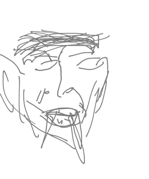 Nat's portrait of me