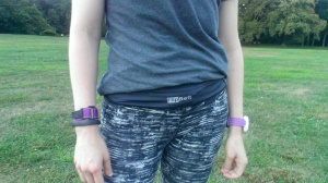 The FlipBelt, post-run.